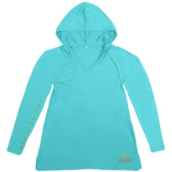 WEEKEND HOODIES TURQUOISE SMALL (S18)