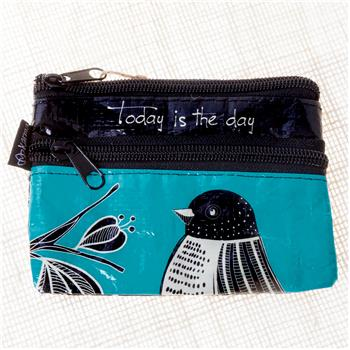 ZIP COIN PURSE BIRD (S15)